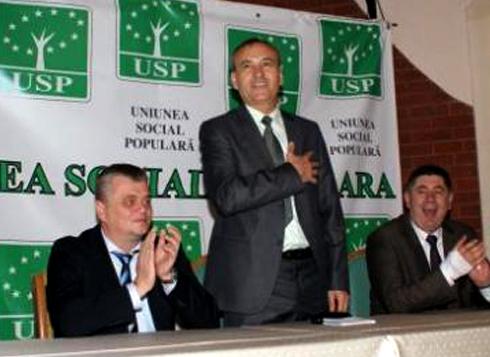 Mircia Muntenu (USP),  Gligor Dorin (USP) si Vasile Hritac (USP)