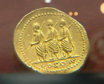 moneda aurul dacilor