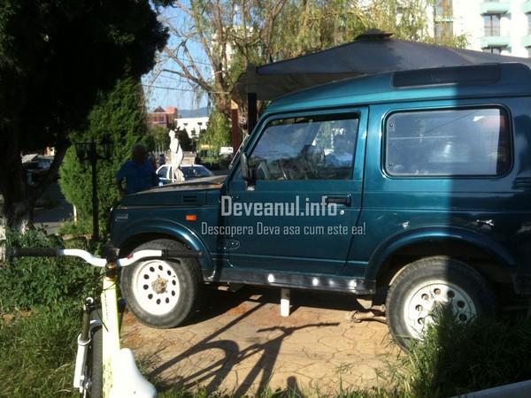 poza accident auto terasa collection deva 3 iulie 2012