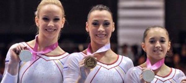 Echipa feminină de gimnastică a României