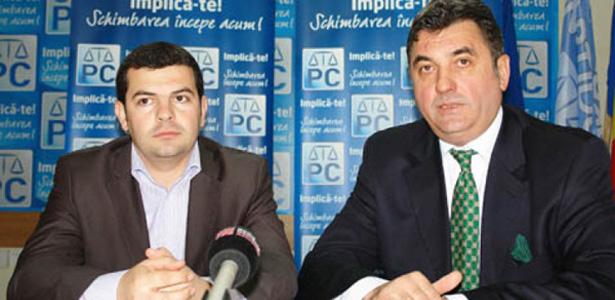 Petru-Mărginean,-alături-de-preşedintele-PC,-Daniel-Constantin-615x300