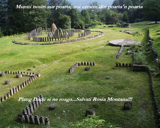 Plang dacii si se roaga - Salvati Rosia Montana