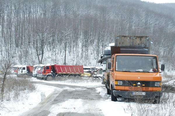 Explorarile de pe strada Aurel Vlaicu s-au mutat pe Calugareni