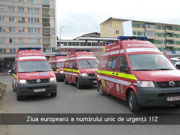 Ziua europeană a numărului unic de urgență 112