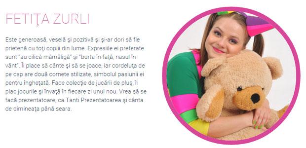 Fetiţa Zurli